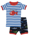 Pyjama Set Short Sleeve Fish